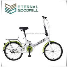 Hot sale adult mini bike with single speed city bike GB2019 20 inch folding bike for customers
