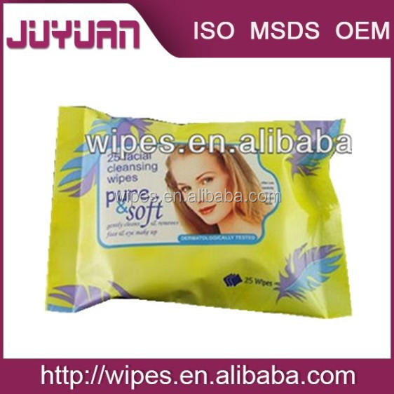 Makeup Remover Wet Wipes/Beauty Wips/Spunlace Wet Wipes OEM Welcomed