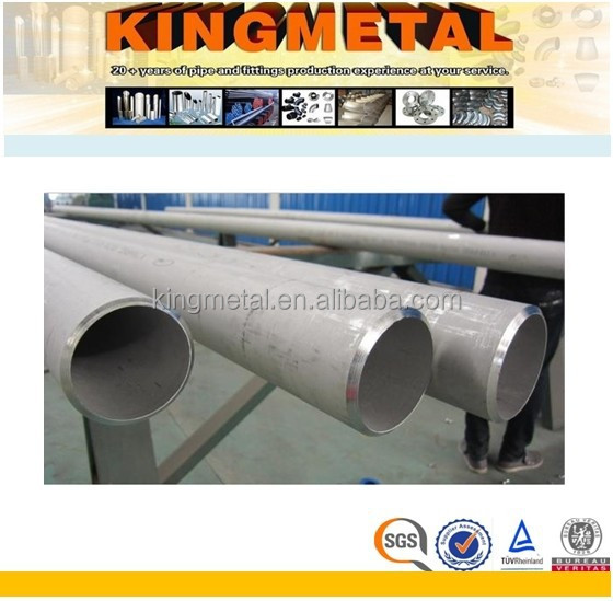 ASTM A790 UNS S31803 Duplex Stainless Steel Seamless Pipe Price Per Ton
