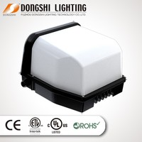 Long lifespan Expanded glass UL ,DLC ,ROSH listed 60W led wall pack light waterproof IP 54 wall mount tube light