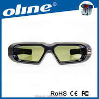 3D Active Shutter Glasses Support brand bluetooth 3D projector or 3D TV