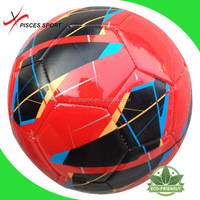 Pisces custom leather soccer ball deflated shipping