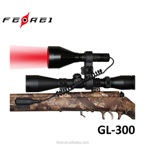 Ferei New Hunting Flashlight Red Green White LED Hunting Light GL-300