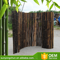 high quality natural Durable Threaded Bamboo Fence for home or garden