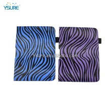 "Table kindle fire hd 7"" hdx 7"" 2012 stand PU leather case Blue Zebra"