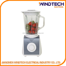 capacity jar with ingredient adding cap party blender machine