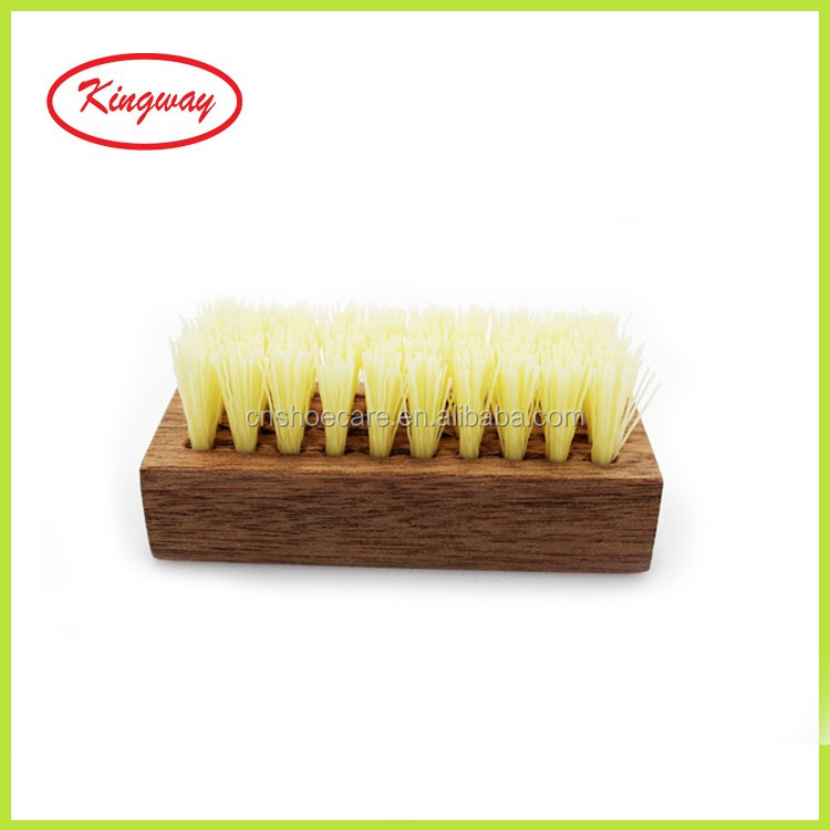 Mini Bristle Suede Shoe Brush