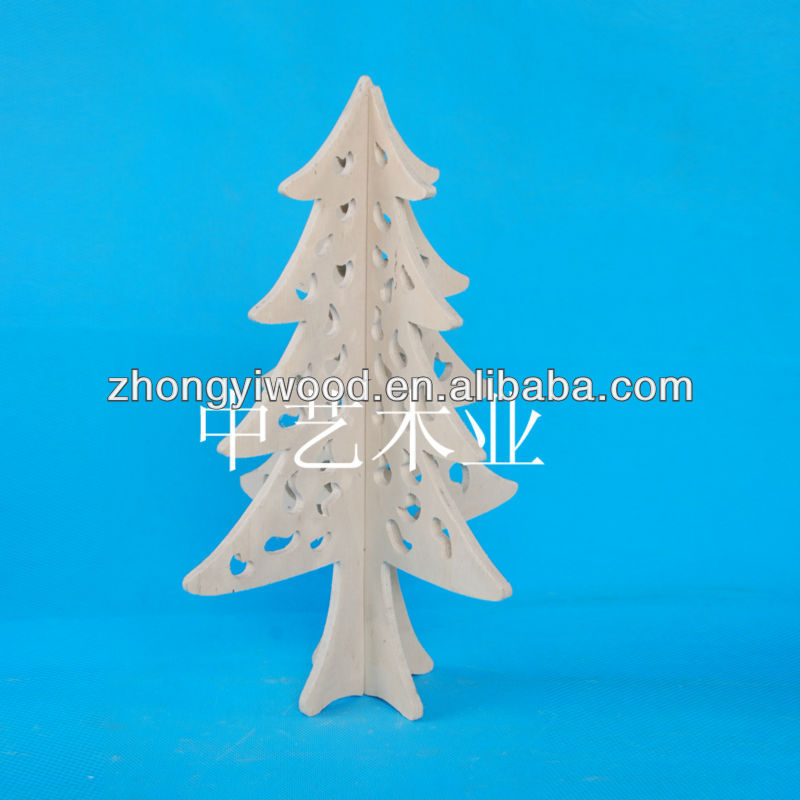 2014 new style buy wooden christmas tree