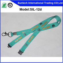 cheap customerized neck lanyard with ID card holder