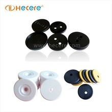 High Temperature Resistance PPS NFC Button Clothes Laundry Tag