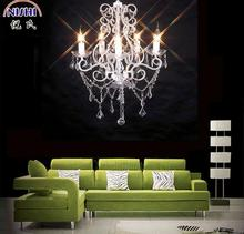 2014 luxury plastic crystal chandeliers light for church (NS-120127)