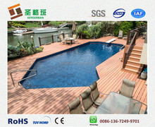 Above Ground Pool Deck, composite swimming pool deck, plastic swimming pool deck
