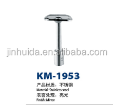 Stainless steel chrome handrail balustrade metal railing fitting KM-1953