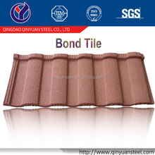 high qualty aluminium zinc steel roofing tile, sand coated metal roofing sheet