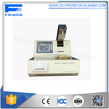 Hydraulic fluids oil cleveland open cup flash point tester