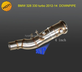 TURBO Downpipe for BMW N20 328i 330i 2012-2014 + F30 L4 2.0L