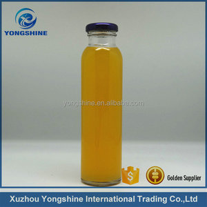 500ml 16oz glass juice bottle for beverage water packaging