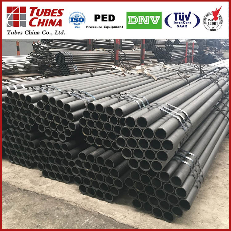 ST44 ASTM A53 / A106 GR.B Carbon seamless steel pipe