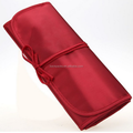 Brush Bag Roll Up Makeup Bag Cosmetic Case Waterproof Fabric Pen Pencil Case Holder Makeup Brush Bag Pouch Tools Bag