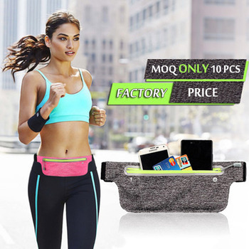 slim waist bag waterproof pouch bag running pouch case for phone