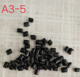 bulk plastic abs pellets raw material Universal Black Masterbatch with low plastic raw materials prices NSBKF001
