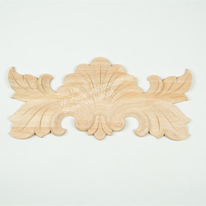 Wholesale Hand Carved Wood Antique Capital Onlay
