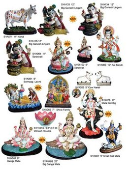 Polyresin Indian God Statues, Hindu God (Murtis)