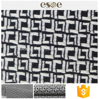 China supplies cheap clothing polyester jacquard fabric samples