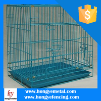 25*50mm Mesh Green Coated Dog Metal Cages