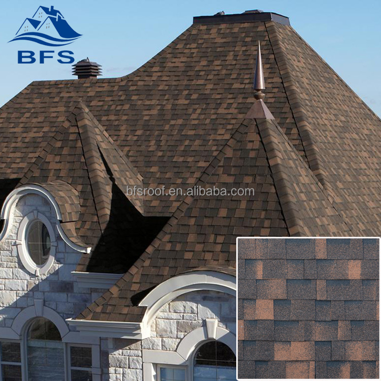 5.2mm thickness Lower Price roofing composite shingles