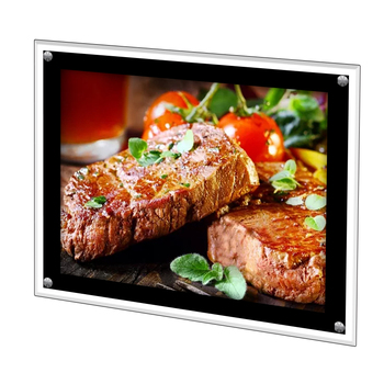 ELICE LED crystal light box / Slim light box / Acrylic light box for advertising Menu board