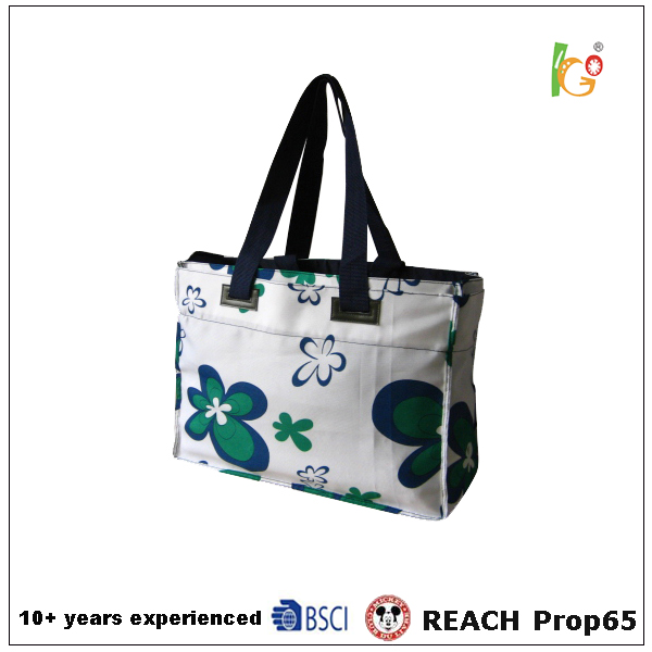 nylon bag shopping and fashion shopping bag and exter large beach bag