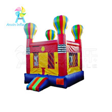party rental inflatable jump castle,colorful inflatable balloon jumping bouncer for kids fun