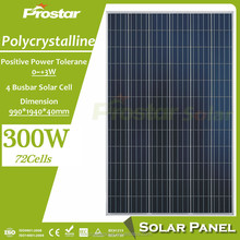 Good quality low price solar PV module 36V 250W for 24V system
