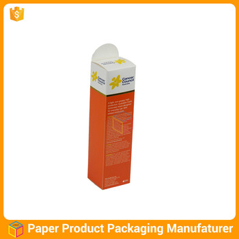 custom cardboard packaging medicine box design