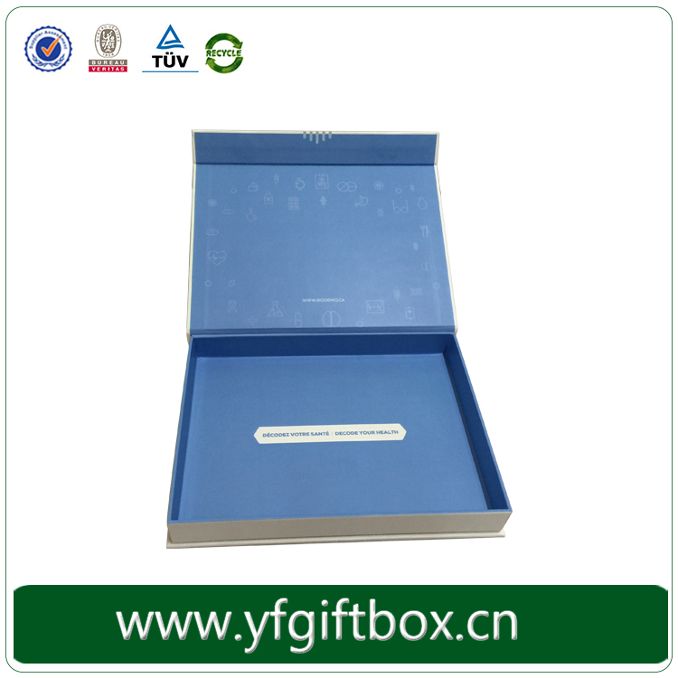 Custom high end fashion show or fair clothing/garment paper packaging display boxes