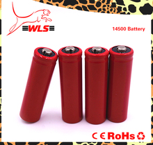 Capacity can be customized 750mah 3.7v 14500 li-ion rechargeable battery
