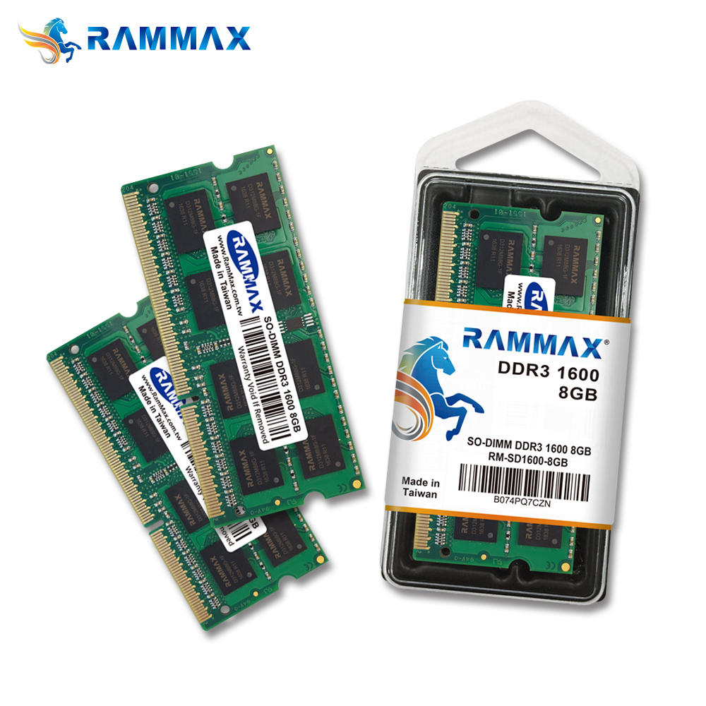 SO Dimm DDR3 8GB 1600MHz pc3-12800 memory ram Laptop for Notebook computer