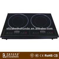 2013 hot selling double induction cooker/ induction stove/4 gas burners built-in gas hob