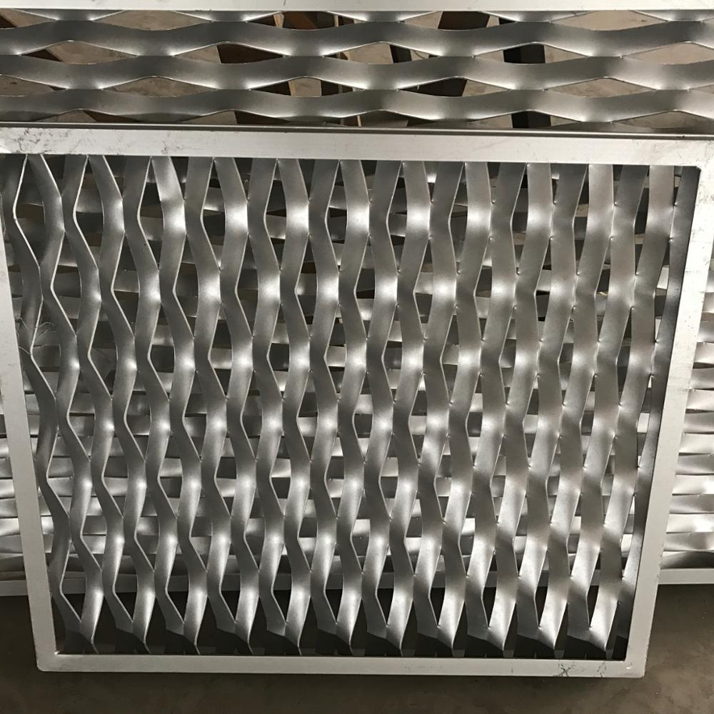 Decorative AluminumPlain Weave Weave Style and Stainless Steel Wire Material aluminum expanded metal <strong>mesh</strong>