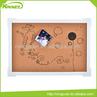 Cartonn pattern decoration various color and size portable soft notice board