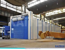 sand blasting room for shipyard,container