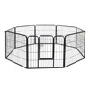 Eco-Friendly Durable square tube indoor dog fence wholesale