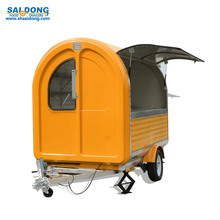 bulk buy from china trailer product fast mobile kitchen/ bike crepe food cart and trailer /ice cream kiosk of food