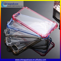 OEM Factory Wholesale Cheap Price Clear Acrylic hard back case TPU soft bumper Mobile Phone Accessories for iPhone 7