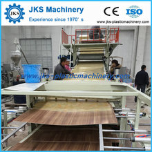 Chinese Manufacturer Supply PVC Plastic Floor Tile Making Machine Line