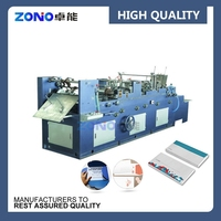 Best Selling ZNXF408 Automatic High speed envelope making machine, envelope sealing machine