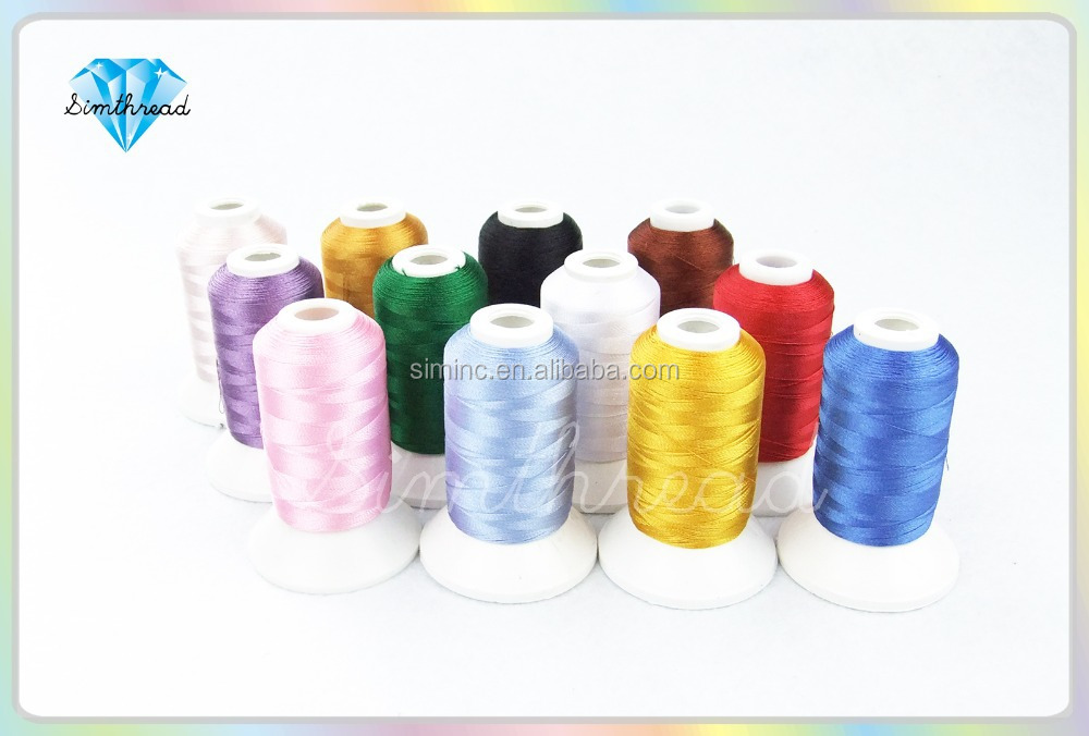 2016 New 100% spun polyester sewing thread for sewing machine embroidery from wholesale sewing supplies