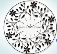 Flower Luxury Wall Clock High Quality(GZH-1)