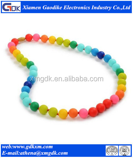 Wholesale silicone beads for baby teething necklace